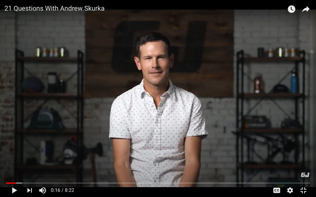 21 Questions for Andrew Skurka by GearJunkie